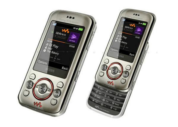 Extra celular Sony Ericsson W395