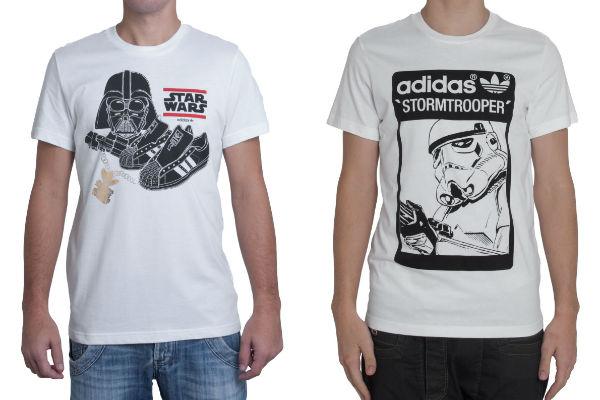 camisa adidas star wars