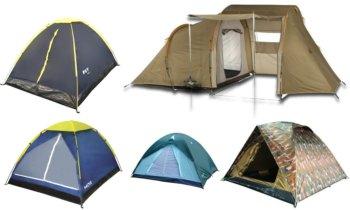 Barracas de camping em oferta