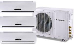 Condicionador de ar tri split Electrolux