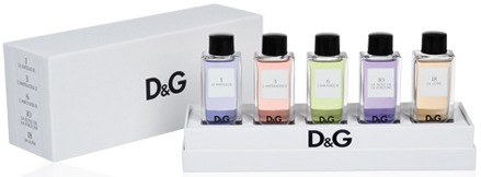 Sacks coffret miniaturas D&G