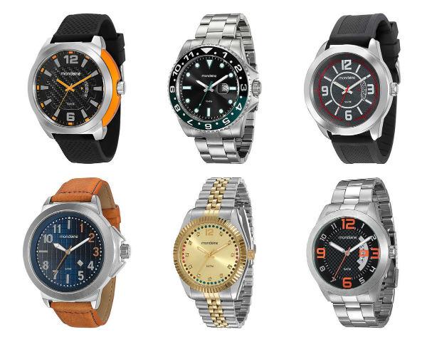 relógios femininos mondaine