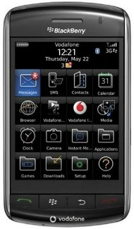 smartphone blackberry storm