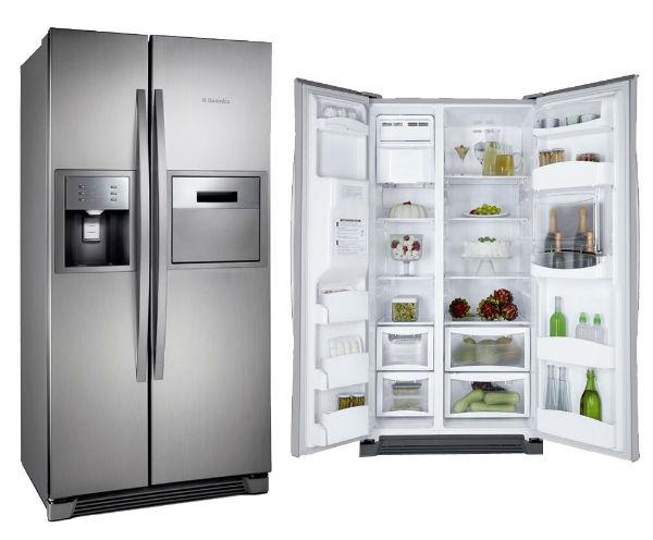 Refrigerador side by side Electrolux