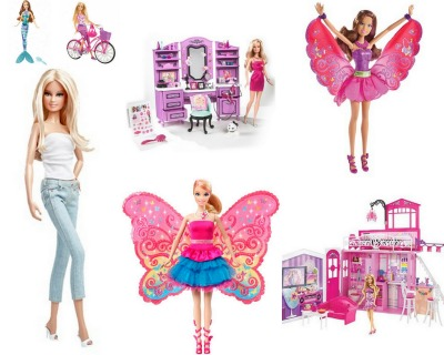 bonecas e kits barbie