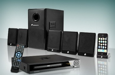 Groupon oferta combo home theater