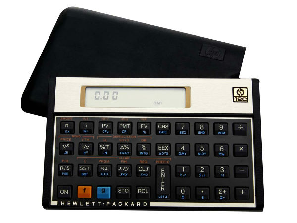Carrefour calculadora HP 12C Gold