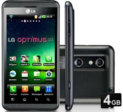 Smartphone LG Optimus 3D