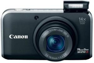 Câmera Canon SX210