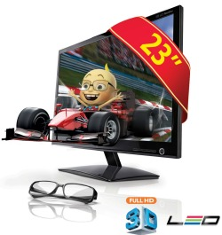 monitor led 3d lg
