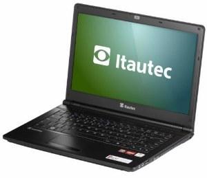 notebook itautec A7420