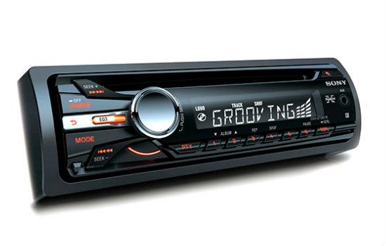 CD Player automotivo sony