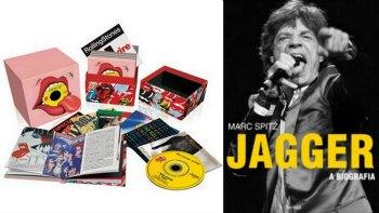 Kit Rolling Stones CDs Livro