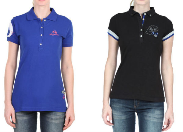 Camisa Polo Feminina
