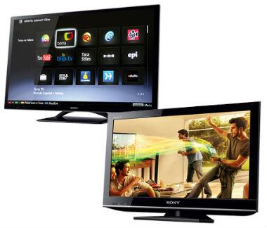 promoção de TVs de LED