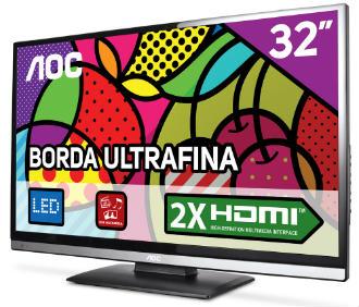 Promoção TV LED AOC 32