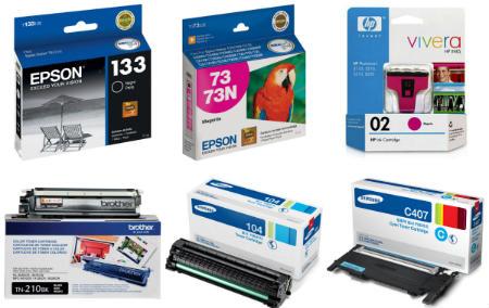 Cartuchos para impressora HP