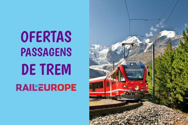 Rail Europe passagens de trem