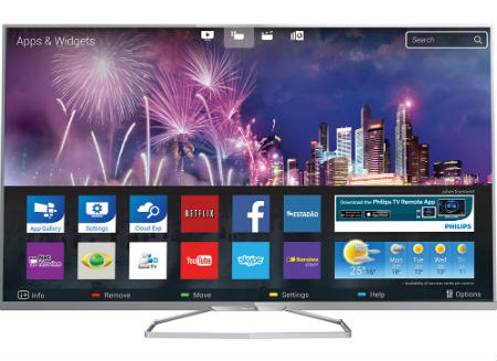 Smart TV Philips Ambilight 3D