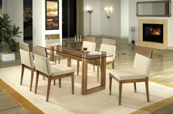 Jogo De Sala De Jantar Ponto Frio ~ Mesas de jantar ofertas e super descontos  Ofertas do