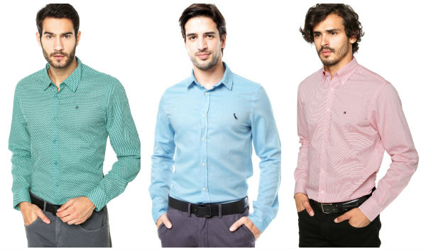 ofertas camisas masculinas