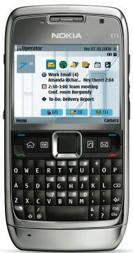 Smartphone Nokia E71 black