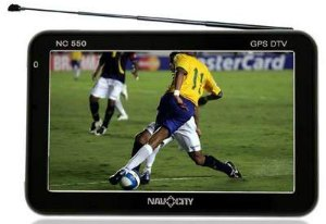 GPS navcity com TV digital