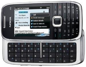 smartphone nokia E75
