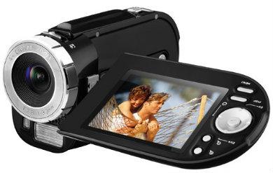 Filmadora e câmera digital newlink