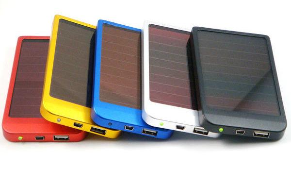 Carregador solar celular