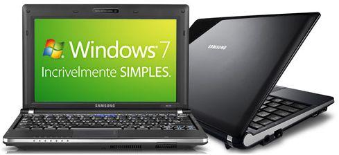 Submarino netbook Samsung