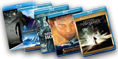 Oferta DVDs e Blu-rays