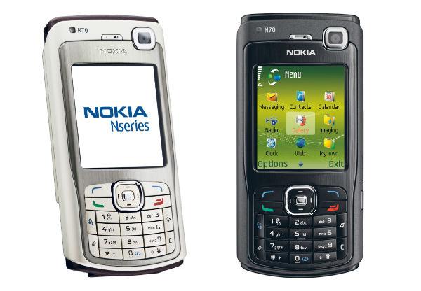 Smartphone Nokia N70