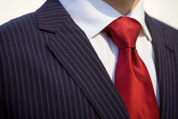 Gravatas e abotoaduras