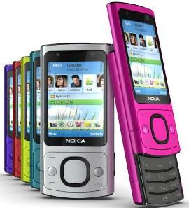 Celular Nokia 6700 3G