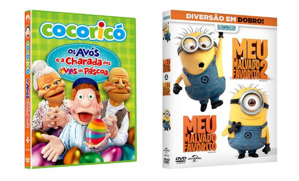 Saraiva DVDs infantis