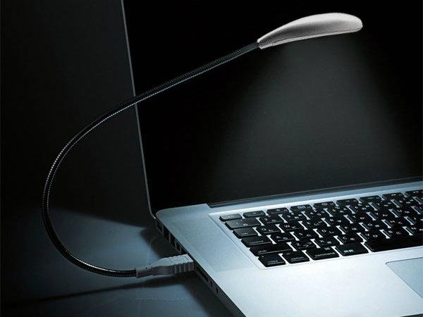 Luminária LED USB para notebook
