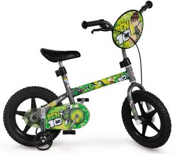 Saraiva bicicleta infantil Ben 10