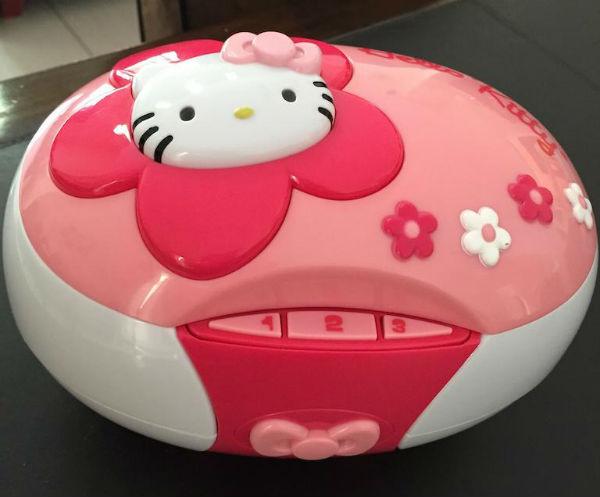 Saraiva porta joias Hello Kitty