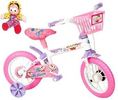 Saraiva bicicleta infantil Mônica