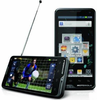 smartphone motorola atrix tv