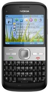 Smartphone nokia E5 em oferta