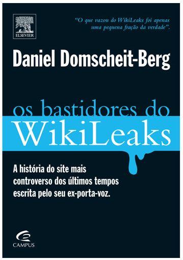 Submarino livro Bastidores do WikiLeaks