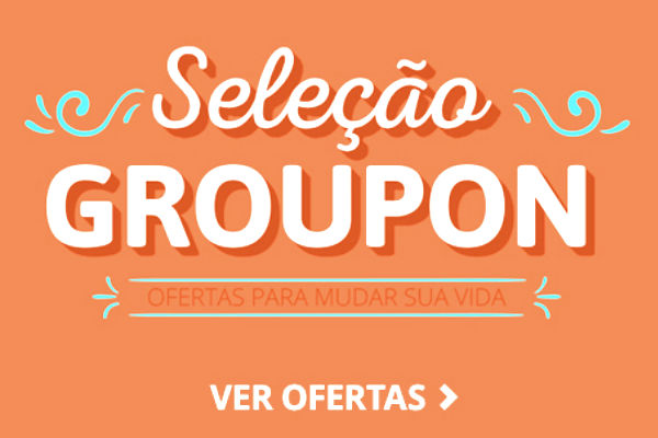10 ofertas do dia no Groupon
