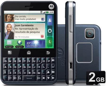 Smartphone Motorola MB502