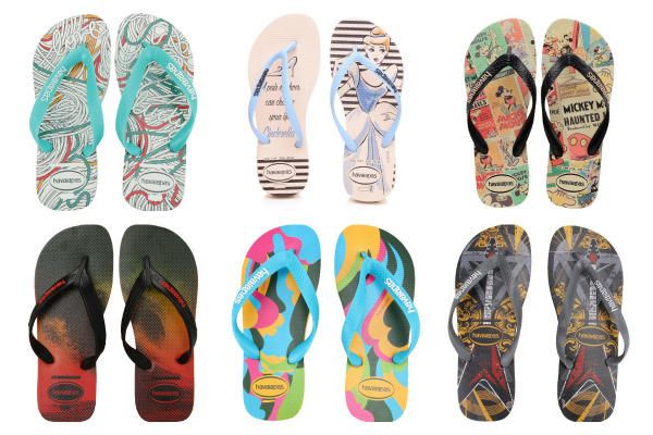 Americanas sandálias havaianas