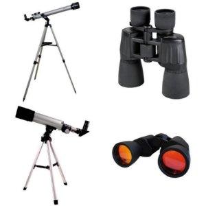 Binóculos e telescópios