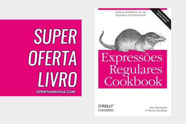 Livro Expressões Regulares Cookbook