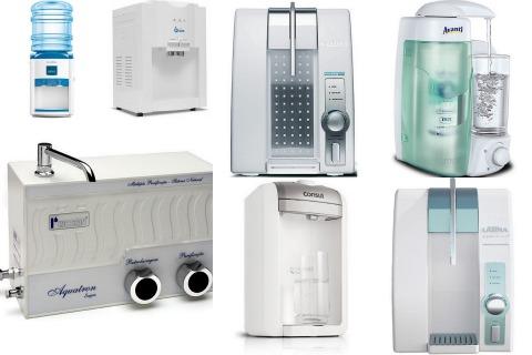 filtros bebedouros e purificadores