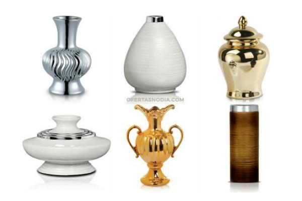 Vasos e produtos de decoração